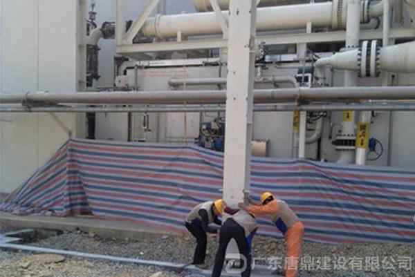 钢结构立柱施工